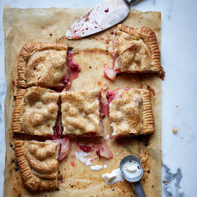 Food & Wine: Pear-and-Cranberry Slab Pie