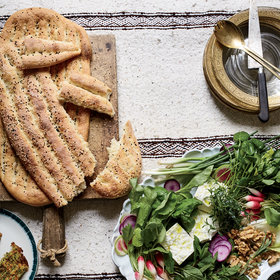 Food & Wine: Persian Flatbread (Nan-e Barbari)