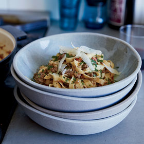 Food & Wine: Peruvian-Style Pasta Bolognese