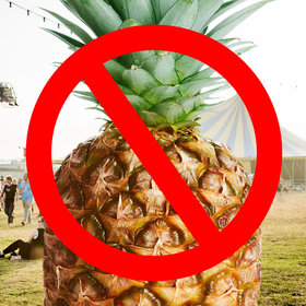 Food & Wine: This Music Festival Just Banned Pineapples