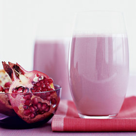 Food & Wine: Pomegranate-Banana Smoothie