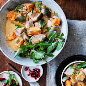 Food & Wine: Pork-and-Pineapple Coconut Curry
