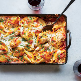mkgalleryamp; Wine: Pork-and-Ricotta-Stuffed Jumbo Shells