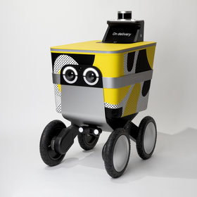 mkgalleryamp; Wine: Postmates Has a New Autonomous Rover That Will Bring You Deliveries
