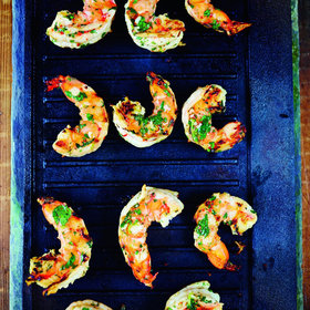 Food & Wine: Pippa Middleton's Recipe for Prawns With Gin & Lime