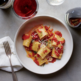 Food & Wine: Preserved-Tomato Paccheri