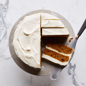 Food & Wine: Pumpkin Layer Cake with Mascarpone Frosting