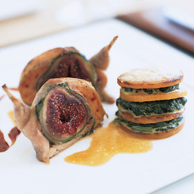 Food & Wine: Quail Stuffed with Fresh Figs and Prosciutto