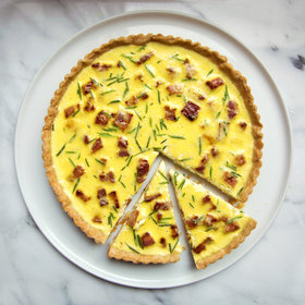 Food & Wine: Quiche Lorraine