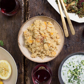 Food & Wine: Quinoa Pilaf with Dried Apricots