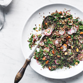 Food & Wine: Quinoa with Spinach and Roasted Almonds