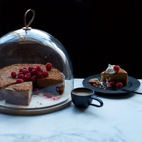 Food & Wine: Raspberry Whole-Wheat Butter Cake