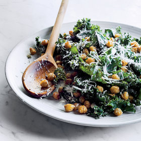 Food & Wine: Kale Caesar with Fried Chickpeas