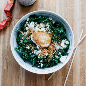 Food & Wine: Kale Salad with Garlicky Panko