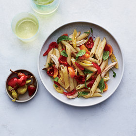 Food & Wine: Penne with Chicken and Pickled Peppers