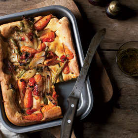 Food & Wine: Vegetable Toad-in-the-Hole
