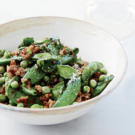 Food & Wine: Double-Pea Sauté with Ground Pork