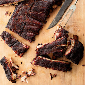 Food & Wine: Smoked St. Louis-Style Ribs