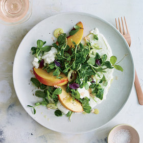mkgalleryamp; Wine: 7 Divine Peach and Cheese Salads to Eat All Summer