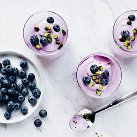 Food & Wine: Blueberry Mousse