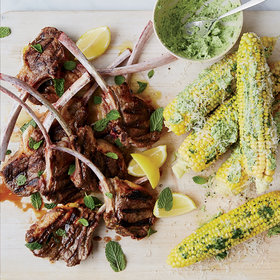 Food & Wine: Corn on the Cob with Parsley Butter and Parmesan