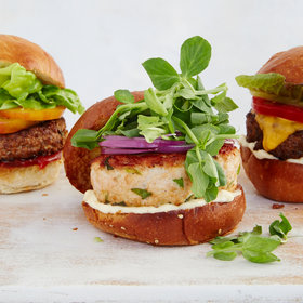 Food & Wine: Green Goddess Turkey Burgers