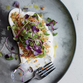 Food & Wine: Quinoa with Yogurt and Sprouts