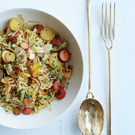 Food & Wine: Ann Ladson's Delicate Tableware Inspired This Picnic-Perfect Rice Pilaf