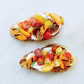 Food & Wine: Apricot-and-Ricotta Tartines