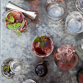 Food & Wine: Negronis with Fresh Oregano