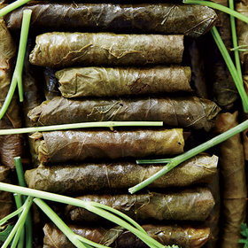 Food & Wine: Stuffed Grape Leaves