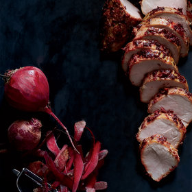 Food & Wine: Beet-and-Caraway-Roasted Pork Tenderloin