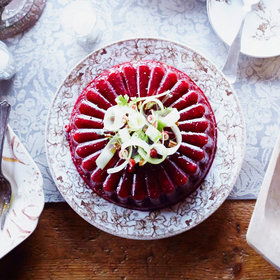 Food & Wine: Molded Cranberry Sauce