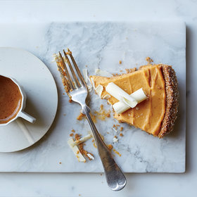 Food & Wine: Pumpkin-and-White Chocolate Mousse Pie