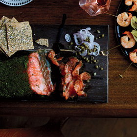Food & Wine: Pink Peppercorn and Fennel Gravlax