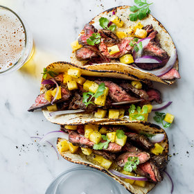 Food & Wine: Steak Tacos with Pineapple