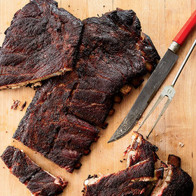 Food & Wine: How to Make Smoked St. Louis-Style Ribs