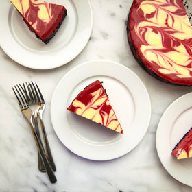 Food & Wine: Red Velvet Cheesecake