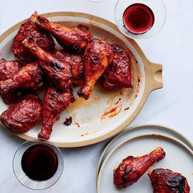Food & Wine: Red Wine BBQ Chicken