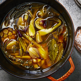 Food & Wine: Red Palm Oil–Confited Alliums with Ginger-Lime Vinaigrette