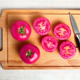 Food & Wine: Hot Pink Tomatoes Might Be the Future of Fruit