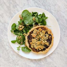 Food & Wine: Roasted Onion and Shallot Tarts