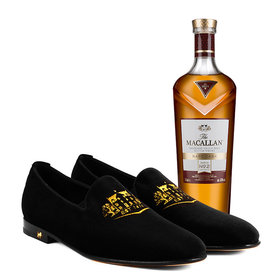 Food & Wine: The Macallan Launches Men's Loafers Inspired by Rare Cask Whisky