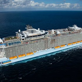 Food & Wine: The World's Largest Cruise Ship Has 20 Restaurants, a 10-story Slide, and a Robotic Bar