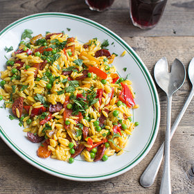 Food & Wine: Spanish Paella-Style Salad