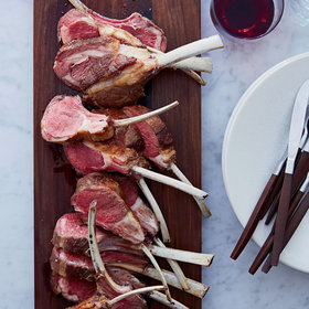 mkgalleryamp; Wine: Salt-Crusted Rack of Lamb