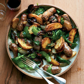 Food & Wine: Sausage-and-Potato Pan Roast