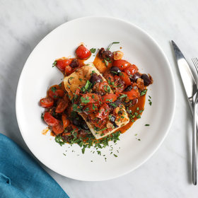 Food & Wine: Sea Bass with Sicilian Cherry Tomato Sauce