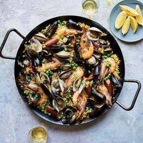 Food & Wine: Seafood Paella