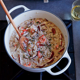 Food & Wine: Shrimp and Wild Mushroom Risotto